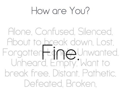 It started again. I feel wrong. I feel like I'm a bad person. Deep inside I know I am. How can I fight this feeling ?