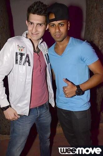 Avec le Dj ahzee :) a l indigo :)