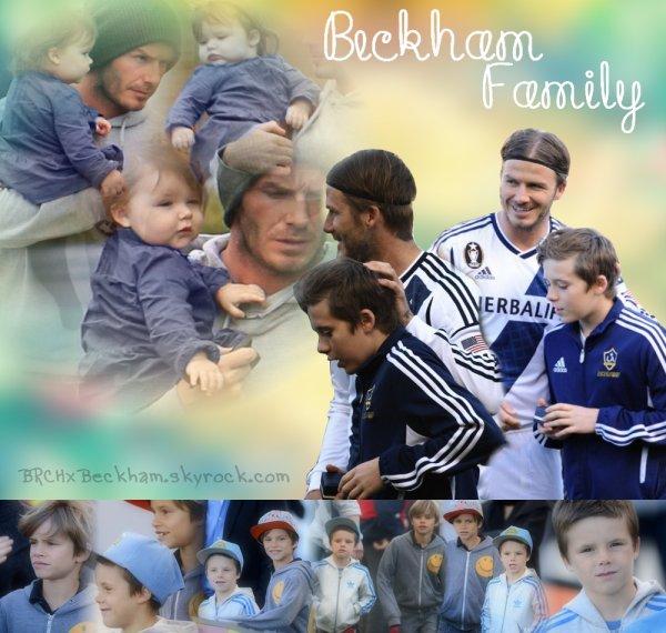 """""""Mes enfants sont la meilleures chose qu'il m'est arrivé """" ~ by David Beckham"""