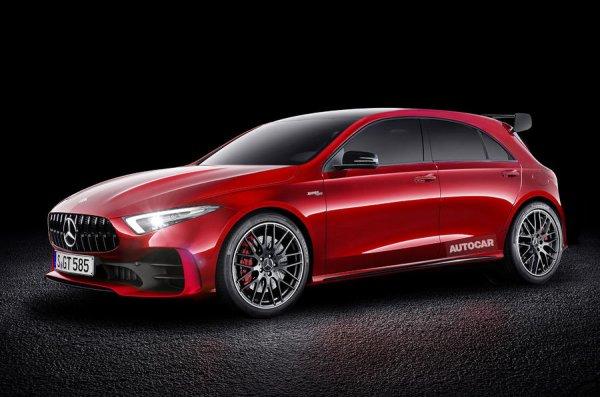 Future Mercedes Classe A AMG (2019) : lâchez l'hybride