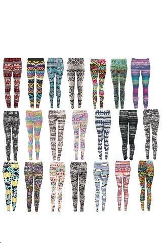 Pas mal la collection de leggings non ?