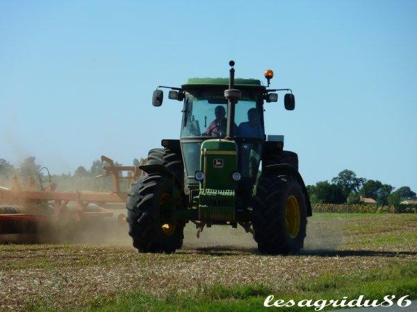 préparation du sol pour les semis de colza