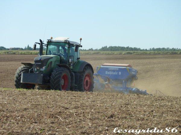 semis de colza 2010 avec un solitair9