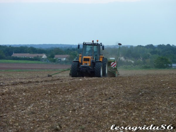 semis de blé 2010 avec un 155-54