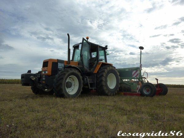 semis de colza 2010 avec des renault