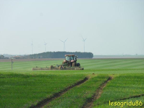 roulage des blés