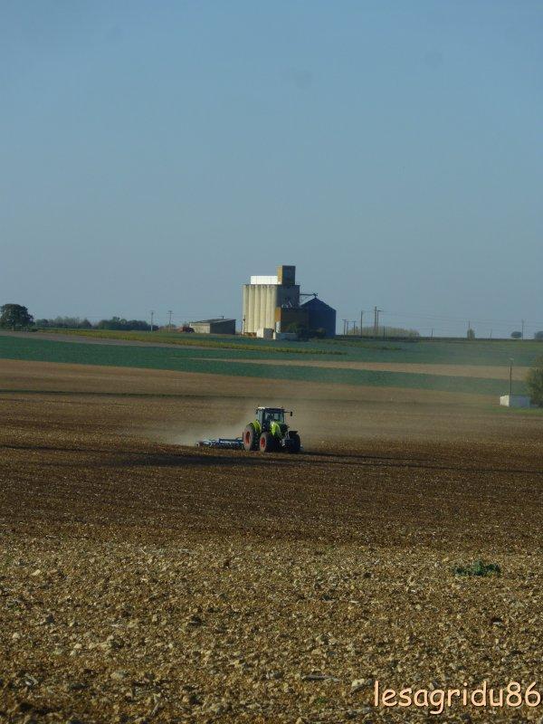 prèparation des sols pour les semis de blé