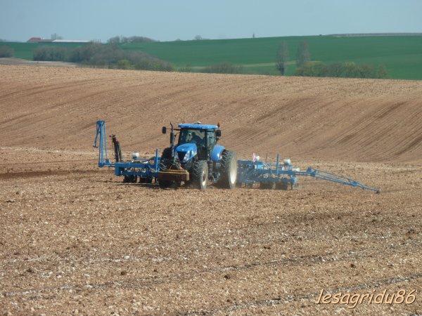 semis de maïs 2012 en Charente Maritime