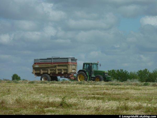 Ensilage d'herbe 2012