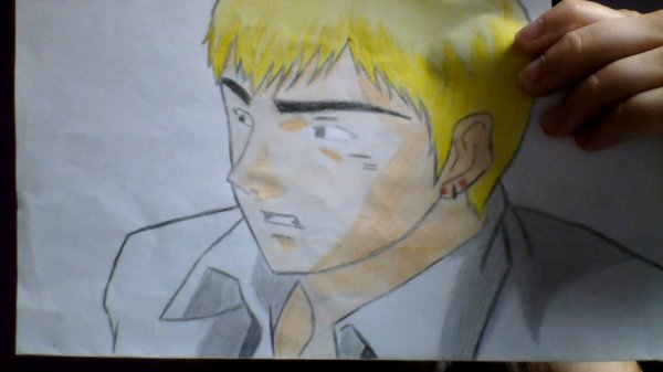 Dessin 3 : Eikichi Onizuka ~