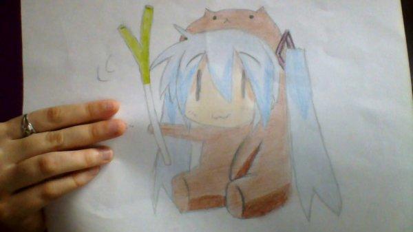 Dessin 12 : Hatsune Miku chibi ~
