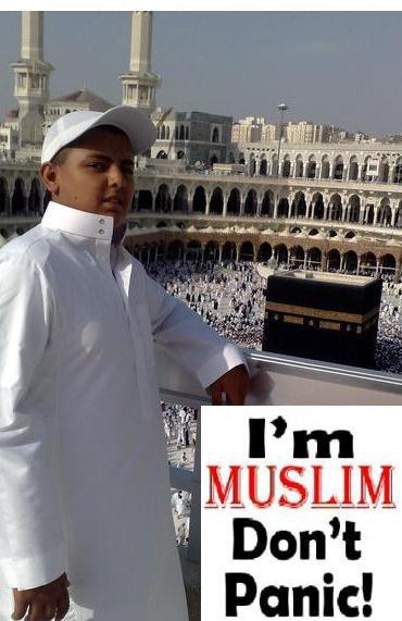 I'm MuSLiM DoN't PaNiC!!