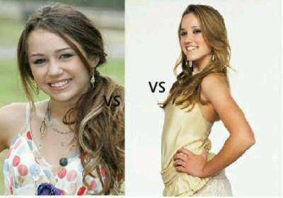 Miley Cyrus VS Emily Osment