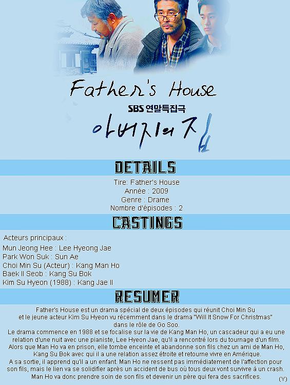 [K-drama spécial] Father's House