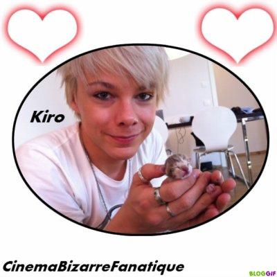 nouvelle photo et montage que j'ai fait de Kiro