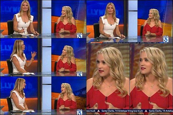 20 mars 2017 : Emily s'est rendu dans les studios de KTLA 5 Morning News pour y donner une interview ●● Emily était superbe, j'aime beaucoup son petit haut ainsi que ses sandales, c'est un TOP pour moi, qu'en pensez-vous ?