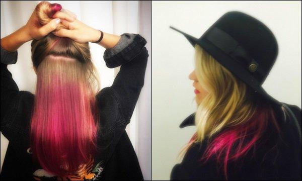 Frévrier/Mars 2017 - Emily a posté diverses photos sur son compte Instagram ●● La belle en compagnie de son petit-ami, avec des mèches roses, se faisant des soins, avec Kym Whitley...