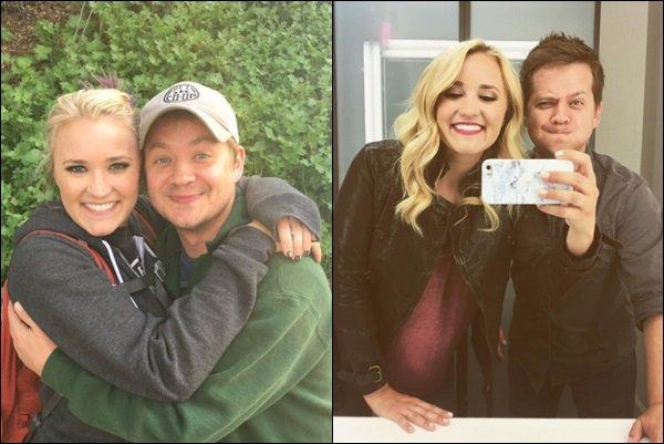 24 mars 2017 : Maria Canals Barrera a posté une photo en compagnie d'Emily et Aimee Carrero ●● Maria était l'une des invité spéciales de la saison 5 de Young and Hungry. J'aime beaucoup leurs tenues, elles sont superbes :)