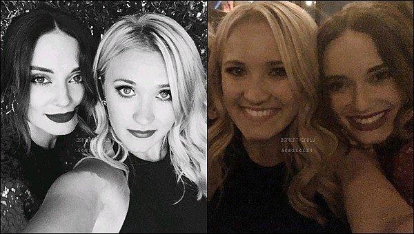 15 Septembre 2016 : Emily était présente sur le tapis rouge des Audi's Pre-Emmy Party à West Hollywood ●● Emily était ravissante ! J'aime beaucoup sa combinaison noire. J'aime beaucoup ses cheveux légèrement ondulés :)