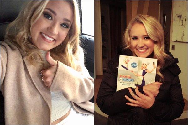 12 mai 2017 : Emily a fait la promotion du livre de cuisine Young and Hungry à New York ●● Emily est passé dans plusieurs émissions, entre autre : The Today Show, People Now... Elle était superbe en blanc !