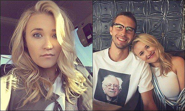 13 août 2017 : Emily était présente au mariage de Jason Earles (Jackson dans Hannah Montana) ●●Ca fait plaisir de les voir réunis, ainsi que Moises Arias (Rico dans HM). La robe d'Emily semblait assez jolie, vos avis ?