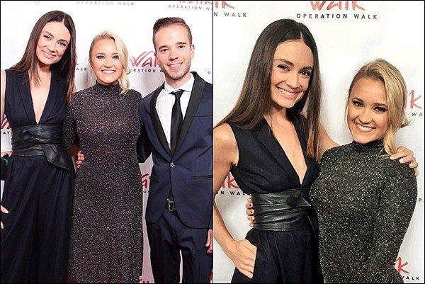 30 Octobre 2017 : Emily et son amie Mallory Jansen étaient présentes auOperation Walk Gala ●●Em était juste sublime ! J'aime énormément sa robe à paillette et ses cheveux relevés, c'est un grand TOP pour moi *__*