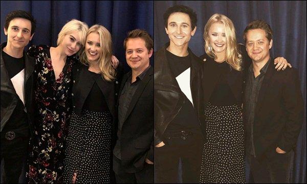 10 Janvier 2018 : Emily était en compagnie de Mitchel Musso, Jason Earles et Chelsea Kane ♥ ●● C'est génial de les voir ensembles. Emily et certains membres du cast d'HM se sont vu à plusieurs fois dans la semaine :)