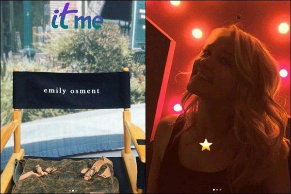 THE KOMINSKY METHOD est la nouvelle série Netflix dans laquelle Emily a décroché un rôle de Theresa ●●Emily a obtenu un rôle récurrent dans la série aux côté de Sarah Baker, Nancy Travis, Alan Arkin & Michael Douglas.