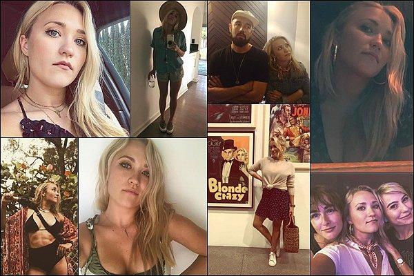 Juillet-Août 2018 ▬ Emily a posté de superbes photos sur son compte Instagram