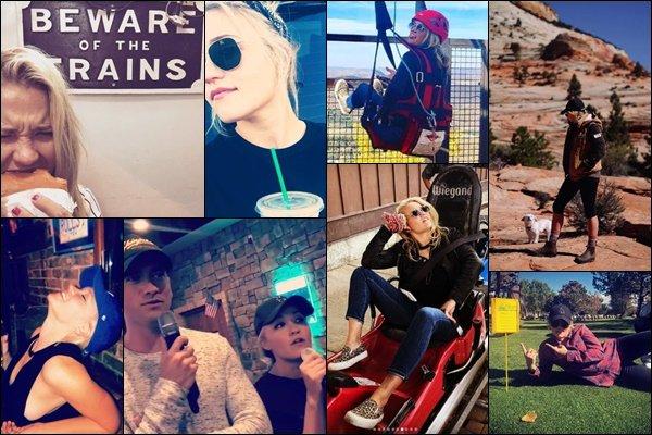 SEPTEMBRE-OCTOBRE 2018 ▬ Emily a posté diverses photos sur son compte Instagram