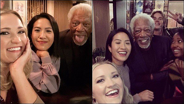 30 Avril 2021 : Emily était sur le tournage de la saison 3 de The Kominsky Method avec Morgan Freeman ●● Je suis encore plus impatiente de voir la dernière saison de la série sachant que Morgan Freeman y fera une apparition :)