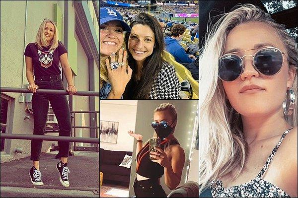 MAI 2021 ▬ Emily a posté de nouvelles photos sur les réseaux sociaux