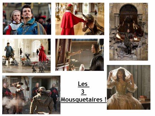 """Encore des photos du film """"Les 3 Mousquetaires"""" !"""