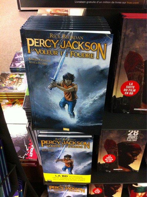 Ah ! Percy Jackson en BD ? !