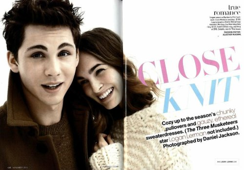 Photoshoot pour Teen Vogue + Date de sortie de Percy Jackson 2 !