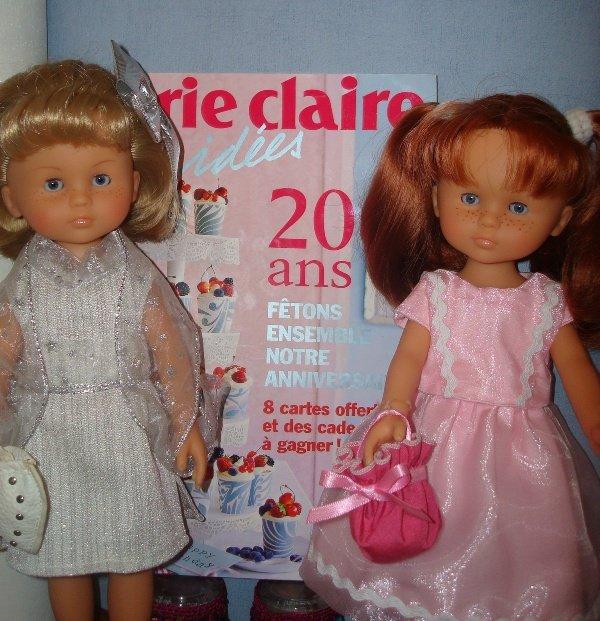 Marie et Claire fêtent les 20 ans de MCI........  1er article