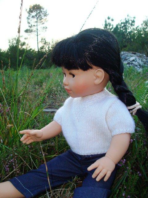 """""""Les petites curieuses ....   Lucie et les petits lapins""""     3ème article"""