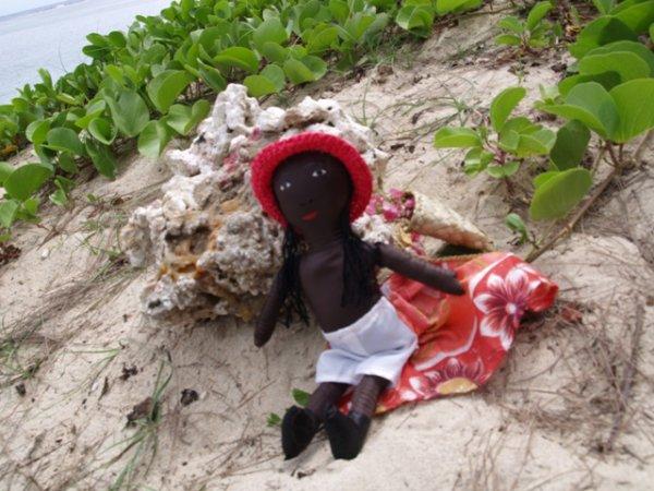 Alamanda à la plage ! (2ème)