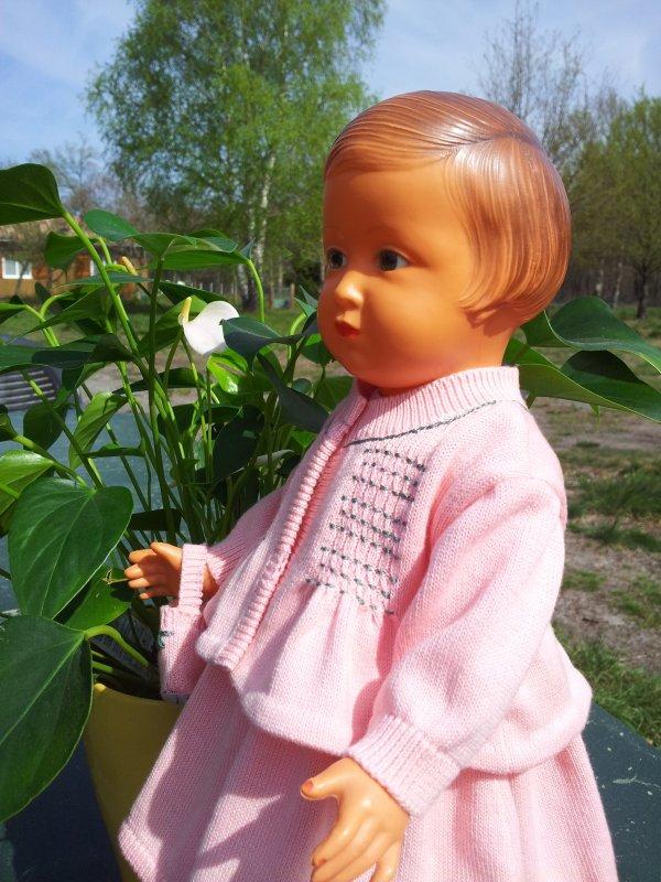 Françoise aime le rose...!