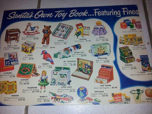 ancien catalogue de jouets américains photo 1