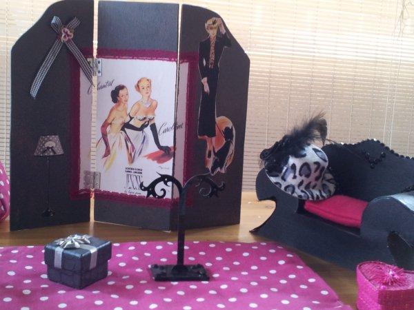 les jolies creations de ma soeur Brigitte ....