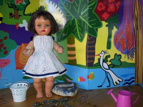 Annie visite le jardin de Mila
