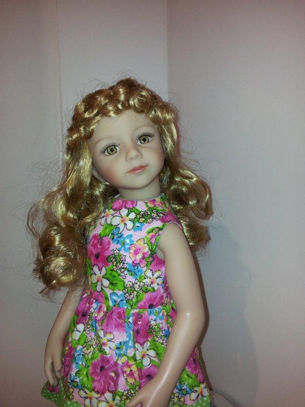 la petite robe du mois d'Août de Noushka !