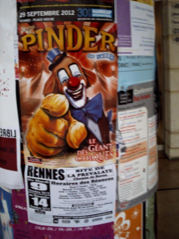 Cirque pinder 2012