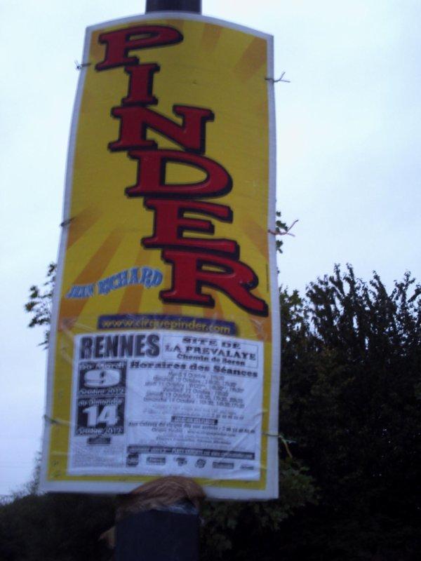 Pinder a Rennes 2012