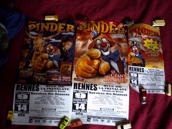 Pinder a Dinan et Rennes 2012