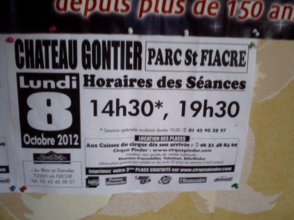 Pinder la flèche et a Rennes 2012