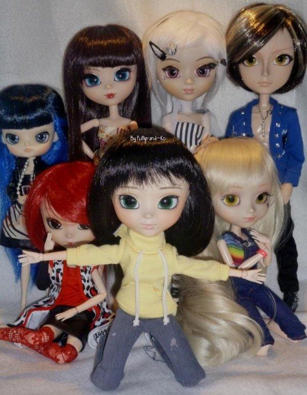 Présentation de mes dolls!-♥