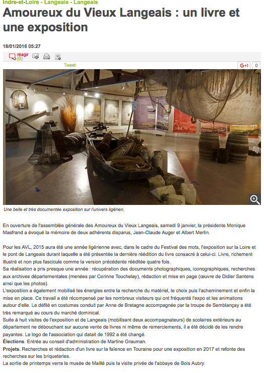 Culture Ville de LANGEAIS