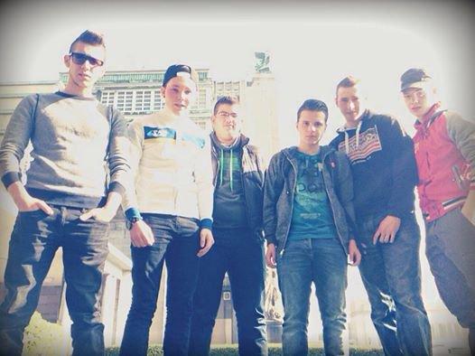 Rocco, Luca, Dylan, Loic, Julien et moi